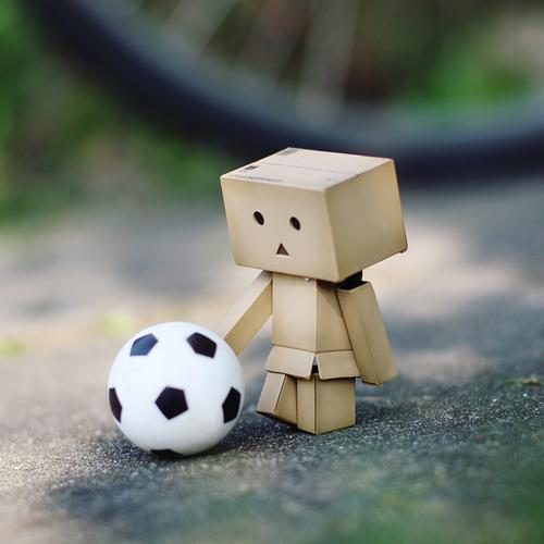 Danbo football wallpaper