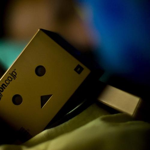 Danbo slept wallpaper