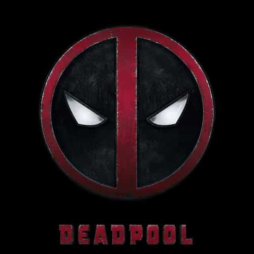 deadpool logo dark art hero