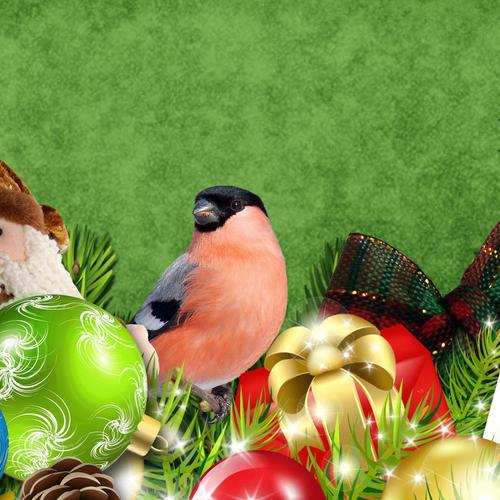 Decorated For Christmas wallpaper