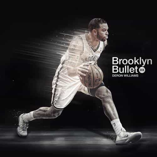 deron williams brooklyn bullet nba basketball sports