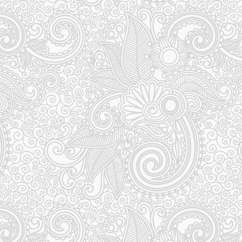 design flower line white bw pattern