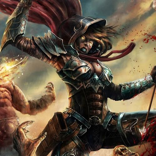 Diablo 3 game - Demon Hunter