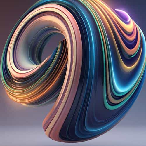 digital art color circle illustration art 3d