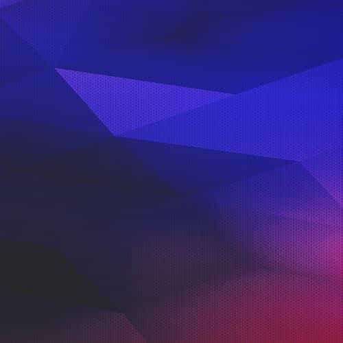 digital polyart blue red pattern abstract