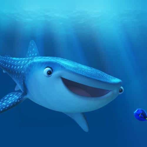 disney finding nemo dory art