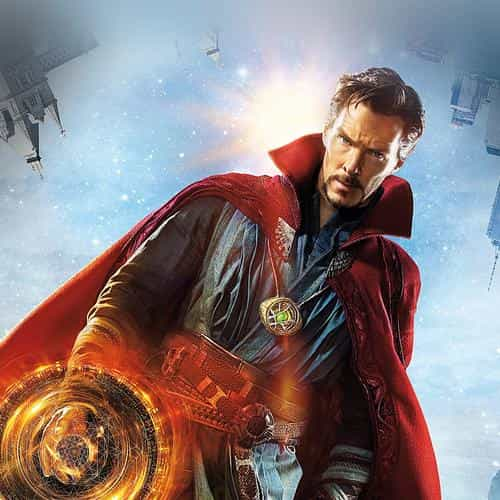 doctor strange poster film illustration art