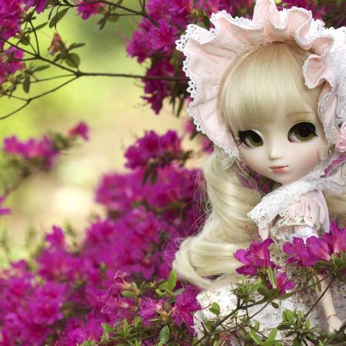 Doll Flowers Nature тапети