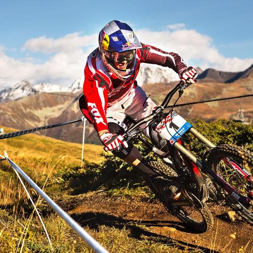 Downhill Cyklistika HD tapeta
