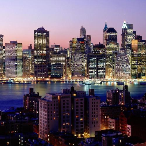 Downtown Manhattan from Brooklyn wallpaper