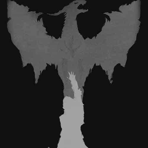 dragon age dark bw art illust minimal