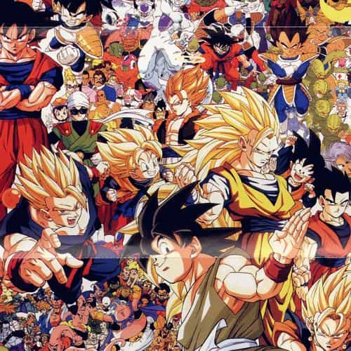 dragonball full art illust game anime