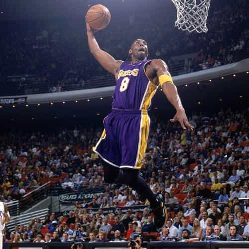 dunk kobe bryant sports face
