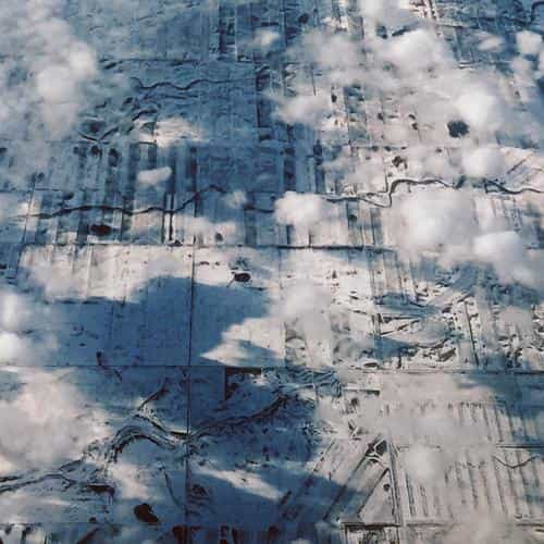 earth view sky land cloud snow fly