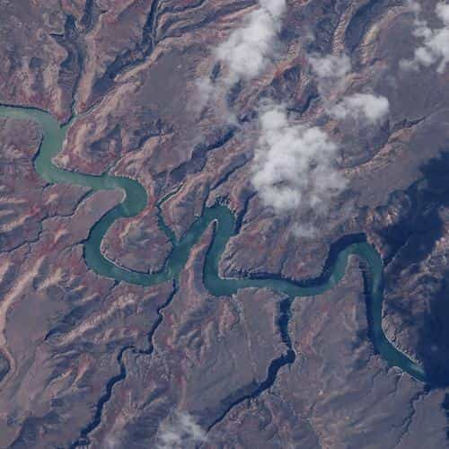 earth view space top satellite nature