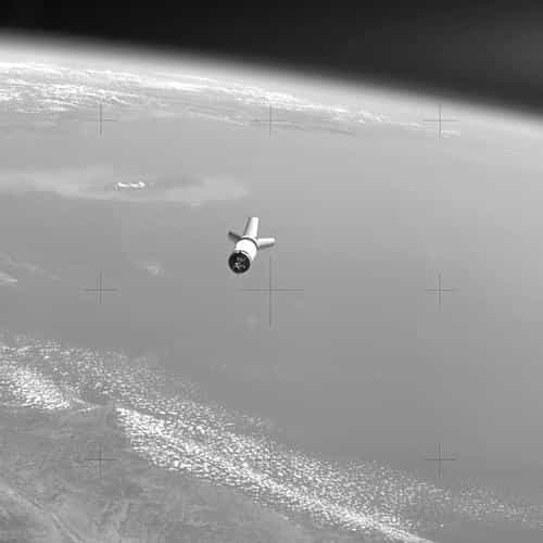 earthview space satelite nature dark bw