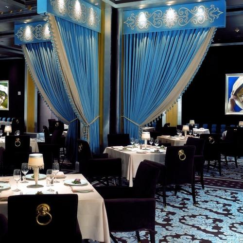 Elegant Restaurant Dining Room wallpaper