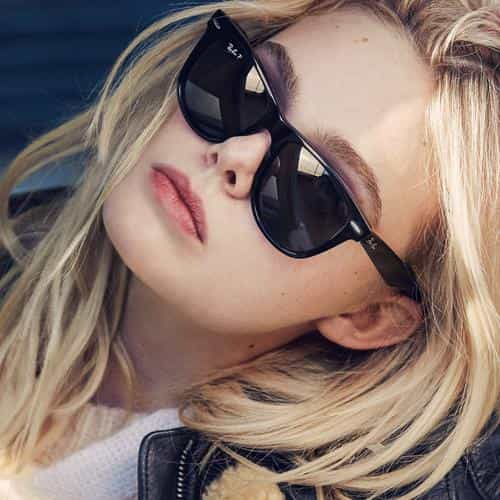 elle fanning model glasses cute