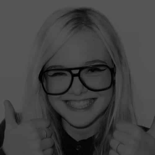 elle fanning thumbs up black sexy actress
