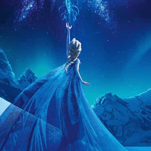 elsa frozen queen disney illust snow art