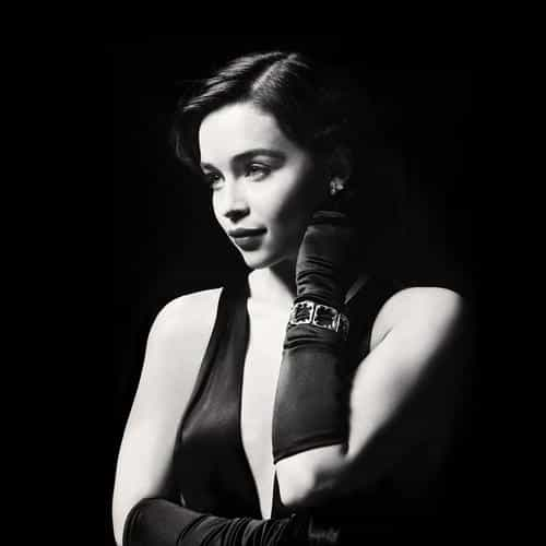 emilia clarke dark model film actress holly
