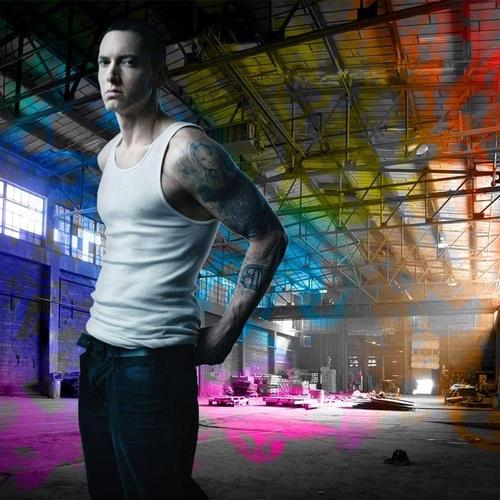 Eminem on singlet wallpaper