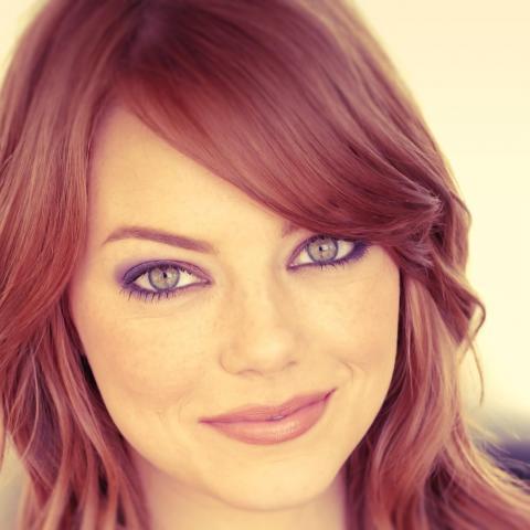 Emma Stone portrait pretty face