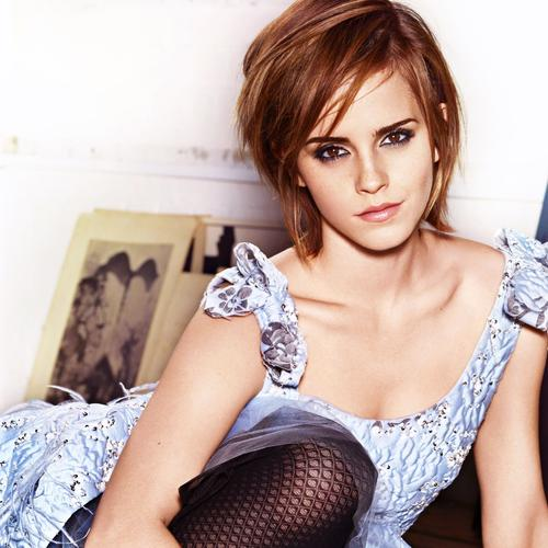 Emma Watson short hair wallpaper