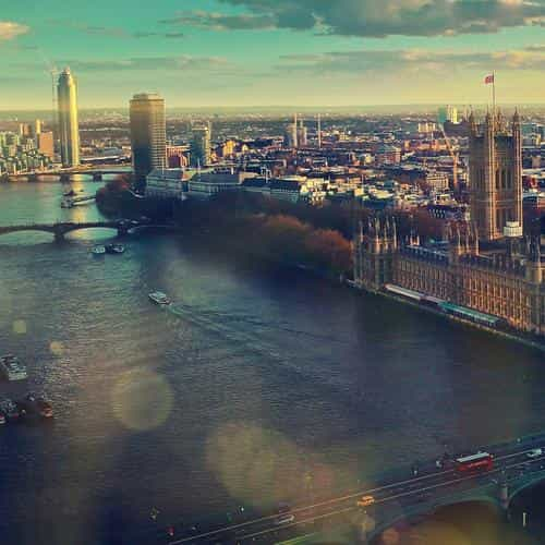 england london skyview city flare big ben nature
