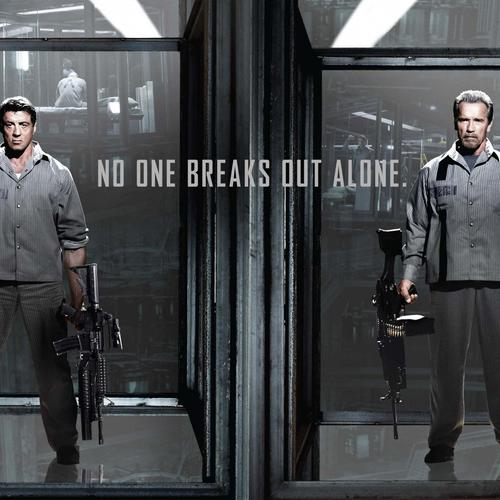Escape Plan Sylvester Stallone Arnold Schwarzenegger Movie behang