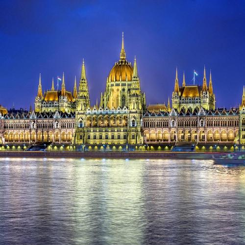 Fantastic Parliament building in Hungary Hdr