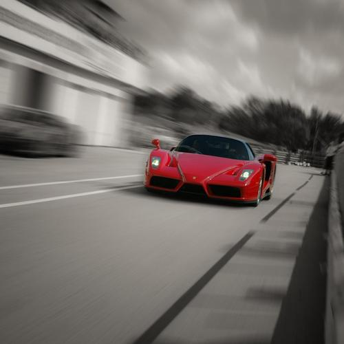 Ferrari Enzo, F60, Speed
