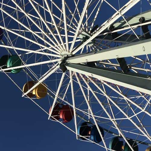 ferris wheel blueday