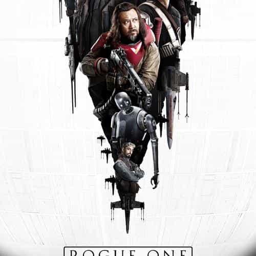 film rogue one starwars poster illustration art