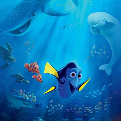 finding dory sea art disney