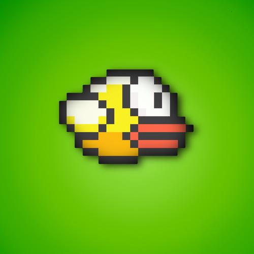 Flappy Ptak tapeta
