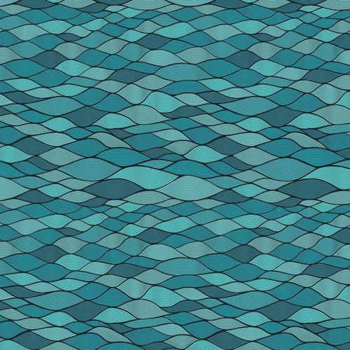 Floating rectangle waves wallpaper