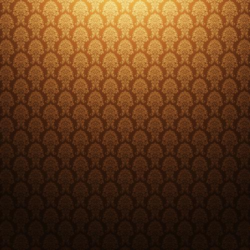 Floral vintage pattern wallpaper
