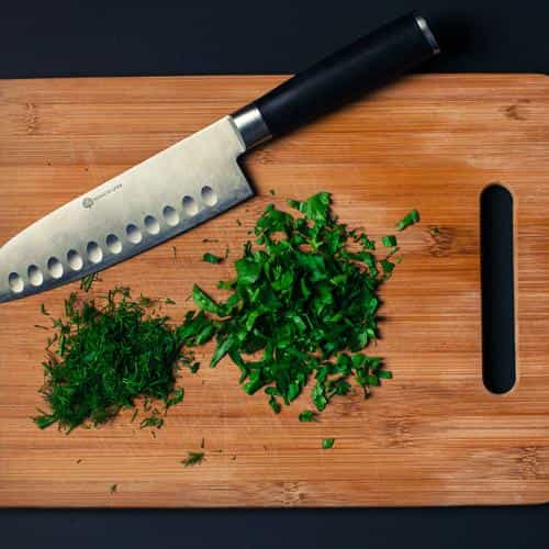 food knife green kitchen city life