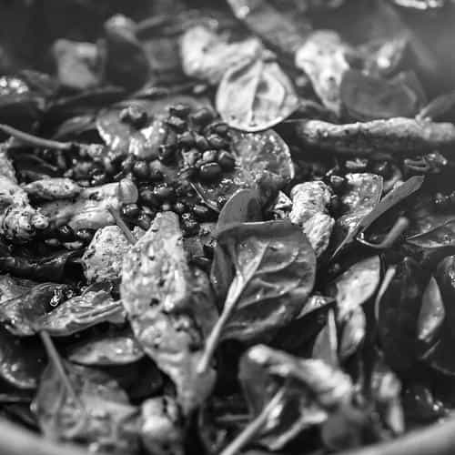 food salad instagram hunger city life flare bw dark