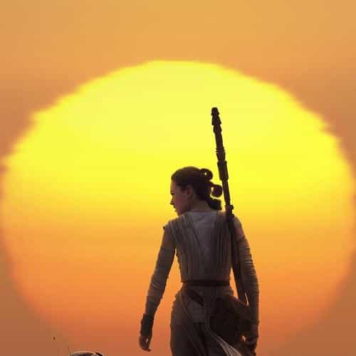 force awakens starwars art rey