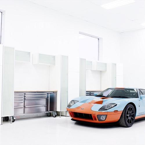 Download Ford GT Garage High quality wallpaper