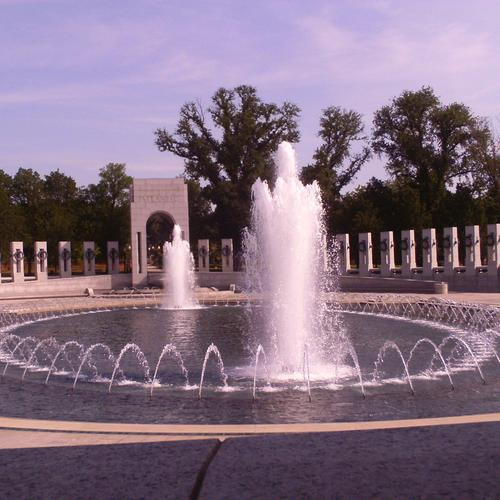 Fountain in Washington D.c. wallpaper