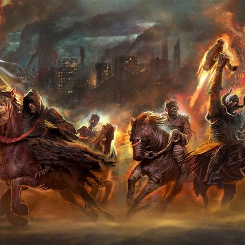 Four Horsemen Of The Apocalypse wallpaper