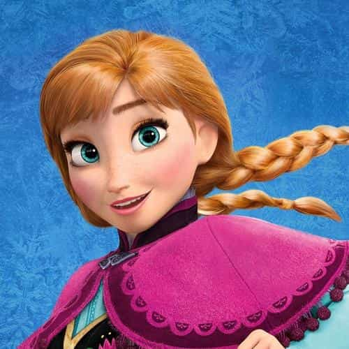 frozen disney princess anna of arendelle illust