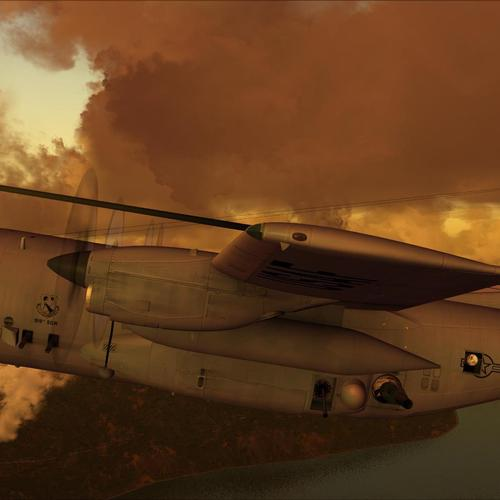 Fsx Ac-130h Spectre fighter aircraft wallpaper