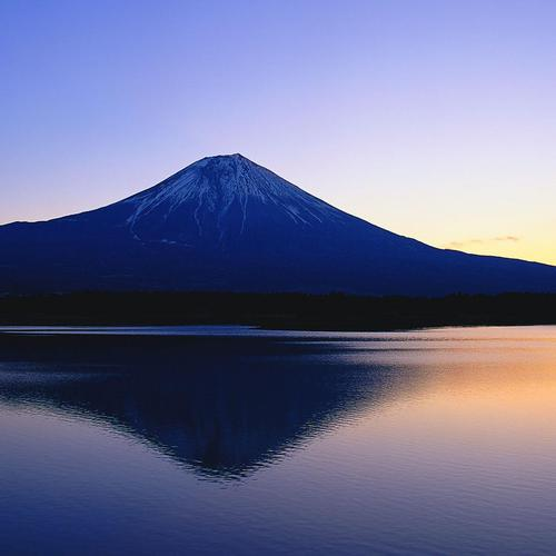Download Fuji mountain reflection High quality wallpaper