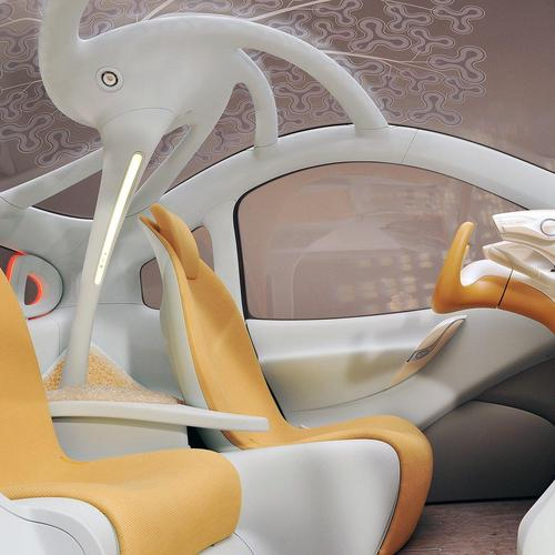 Future car Interior