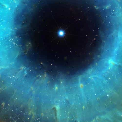 galaxy eye center space stars