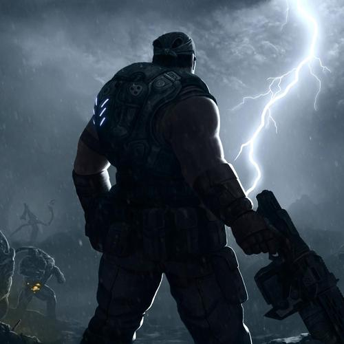 Gears of war 3 game lightning wallpaper